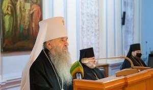 Митрополит Варсонофий выступил на епархиальном собрании с годовым докладом
