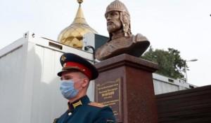 В Сирии открыли памятник Александру Невскому