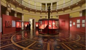 Храм святого Александра Невского и посвященная ему выставка открылись в Эрмитаже