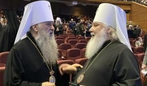 Митрополит Варсонофий присутствовал на пленарном заседании образовательных чтений