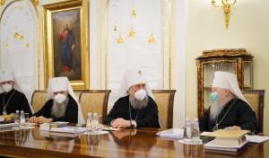 Митрополит Варсонофий принял участие в заседании Священного Синода
