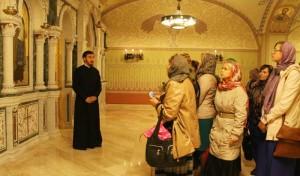 Второй ознакомительный тур по храмам Санкт-Петербурга для представителей турфирм был организован советом по культуре