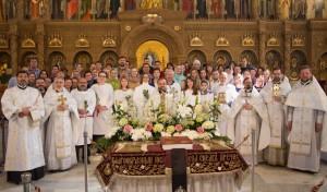 Совершено Крещение в Великую субботу
