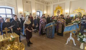 Миссионерский молебен совершен в храме преподобного Серафима Вырицкого
